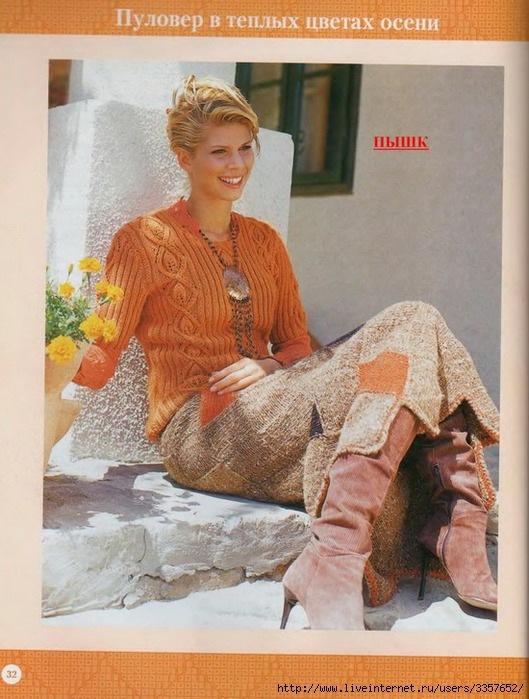 Комментарий: Вязание юбок. . Фото 1. Фото 2. Фото 3. Фото 4. Имя. . Ссылка на страницу с фото: http