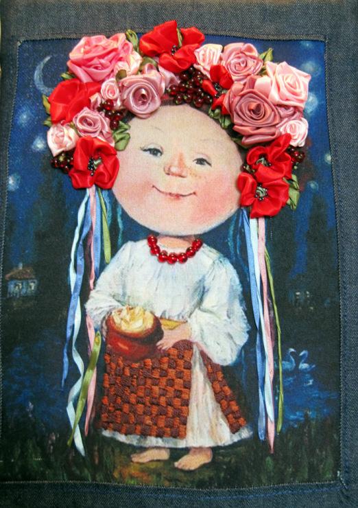 Gallery.ru / Украиночка с российскими корнями - вышивка лентами ...