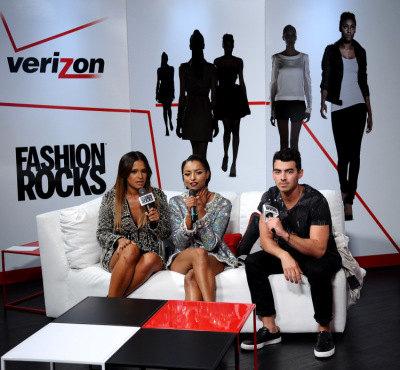 Garnier, Maybelline New York, And Verizon Backstage At Fashion Rocks 2014 [9 сентября]