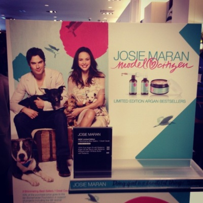 Josie Maran Cosmetics' Model Citizen