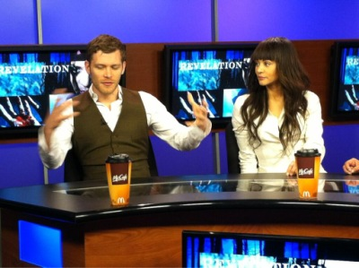 Joseph and Persia on CBS Atlanta: Revelation Interview [22 марта]