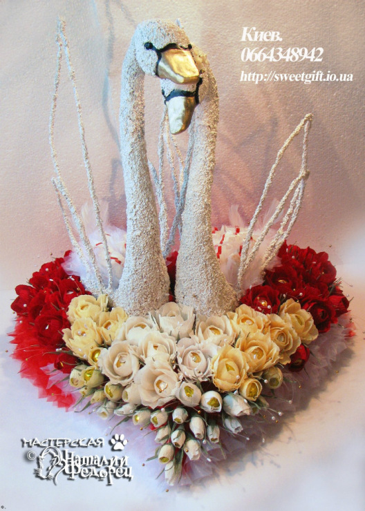 Букеты из конфет своими руками на свадьбу мастер класс