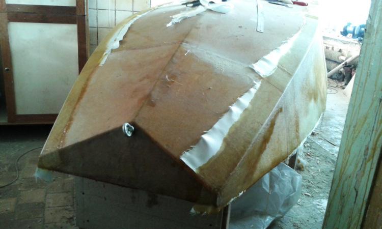 технология изготовления катера из стеклопластика