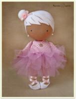 Куклы и игрушки ручной работы.  Ярмарка Мастеров - ручная работа Текстильная кукла MIMI.  Handmade. ...
