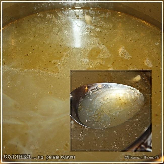 Семужкино Брюшко … рыбная сборная солянка