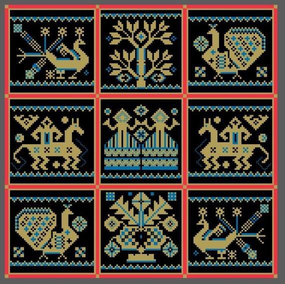 Схемы для вышивки славянских оберегов* МАМИН ГРАД.