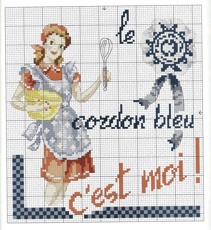 Cpdc hors serie 28 2013 liveinternet - Point de croix cuisine ...