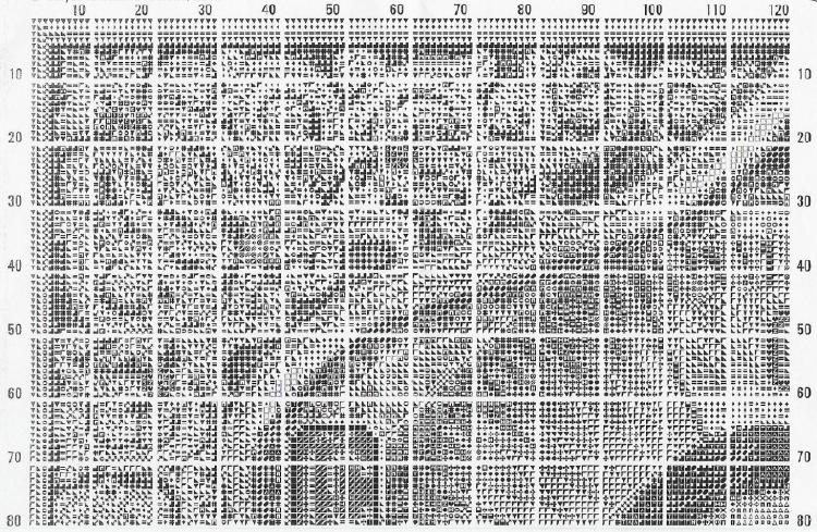Выкройка текстильного чайника в натуральную величину