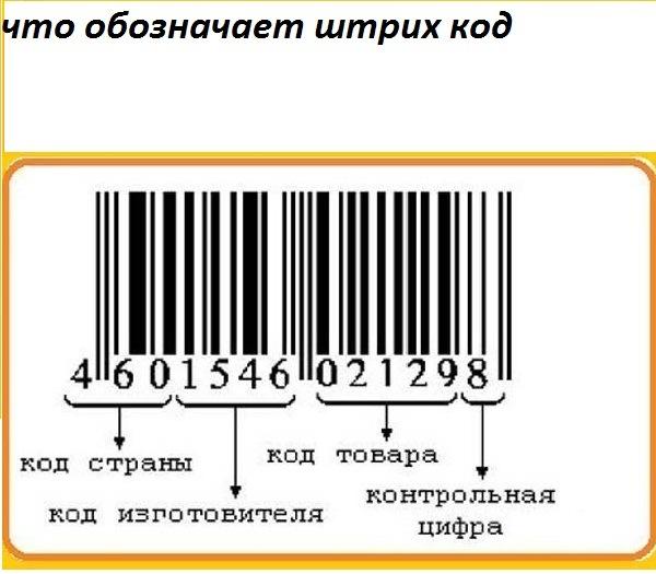 Как создать штрих код на свой товар