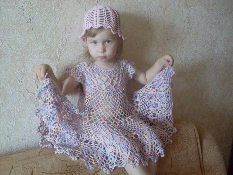 Вязание крючком одежды детям