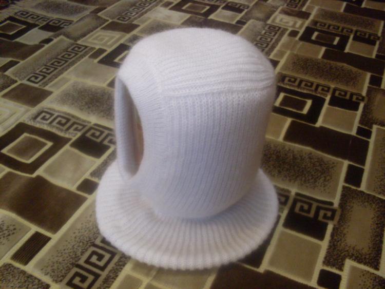 Вяжем детскую шапку на машинке