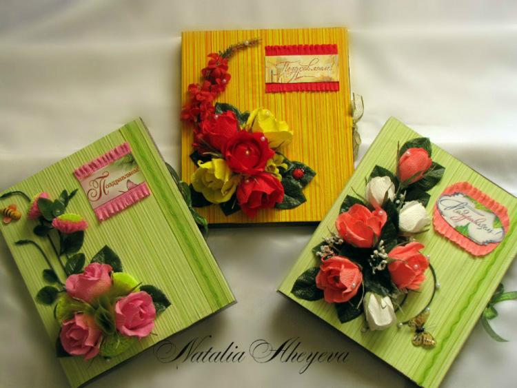 Как украсить коробку конфет своими руками к дню рождения