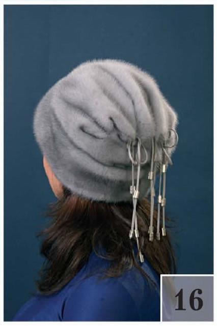 Как сшить шапку из меха и